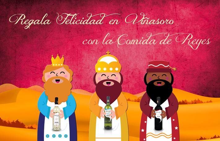 El día de Reyes, regala felicidad en Viñasoro