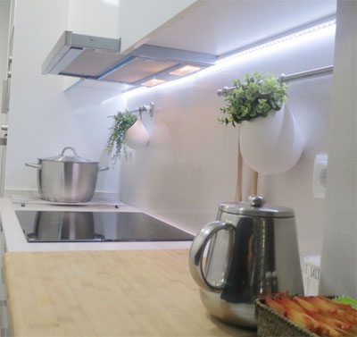 Regletas iluminaci n led ferreter a hnos carmona - Iluminacion cocina fluorescente ...