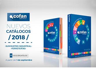 nuevos catálogos Cofan ferretería y suministro industrial