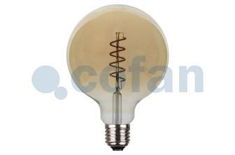 Bombilla LED globo espiral