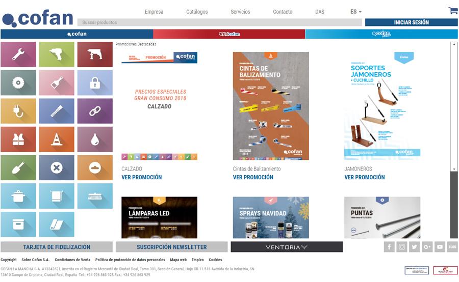 promociones ferreteria online tienda cofan
