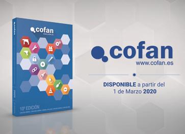nuevo catálogo Cofan 2020 con más productos y familias