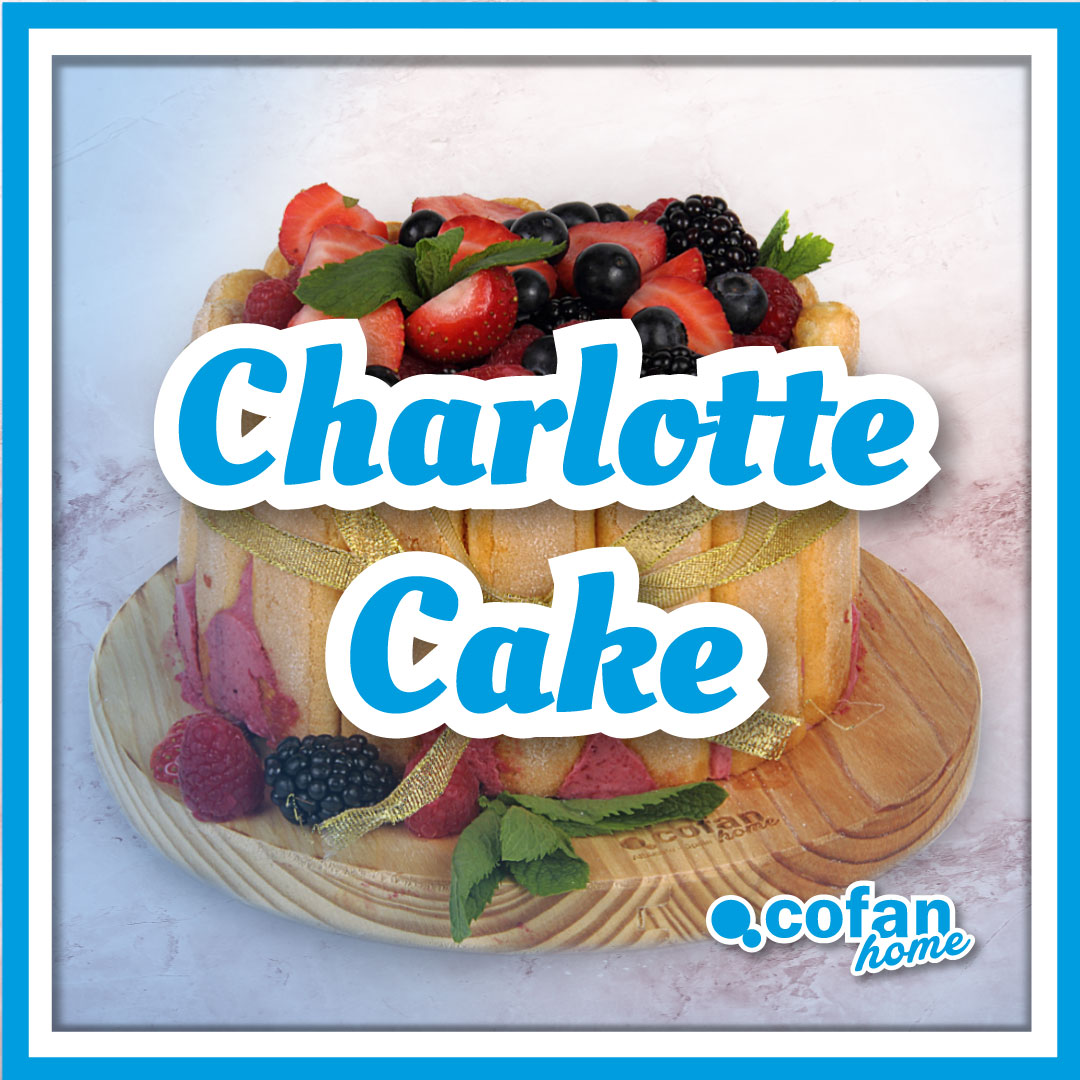 receta charlotte cake cofan home