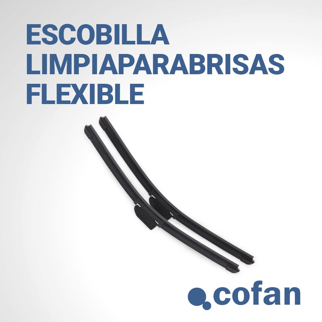 escobilla limpiaparabrisas flexible Cofan