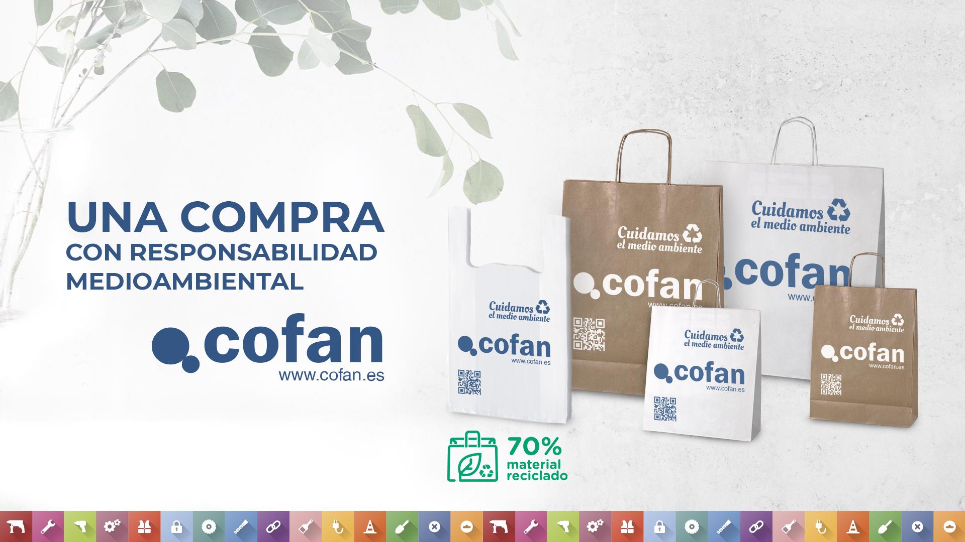 bolsas reciclables Cofan